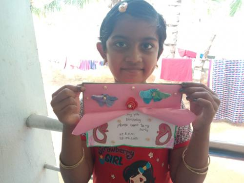 INVITATION MAKING COMPETITION