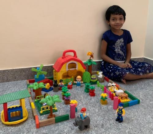 BLOCK BUILDING COMPETITION